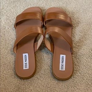 Women's Steve Madden Dual Flat Sandal Size 8.5
